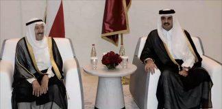 رسالة كويتية لأمير قطر وسط حراك دبلوماسي مكثف