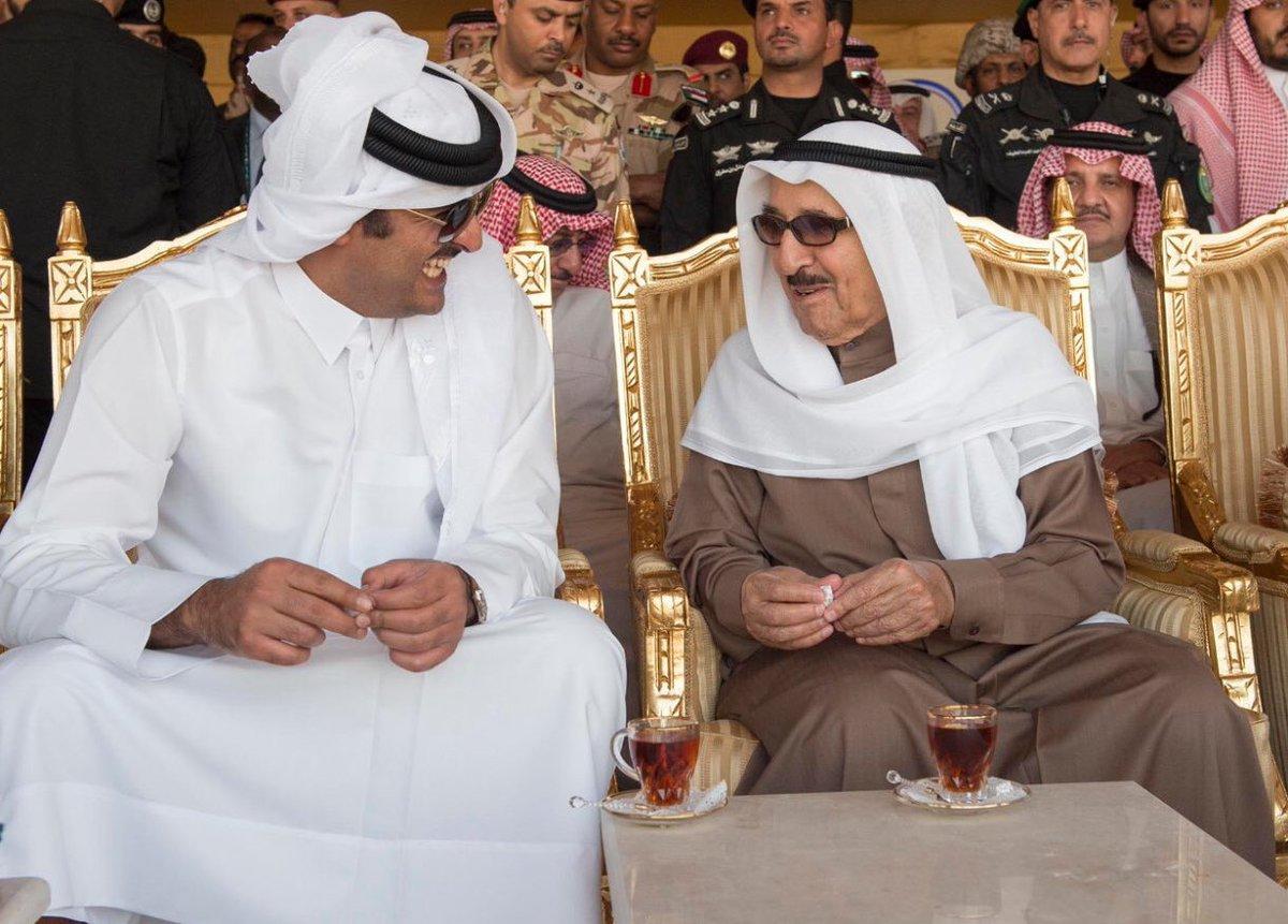 الزيارة الثانية خلال عام.. أمير قطر يزور الكويت