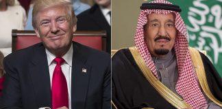 ترامب وسلمان يبحثان هاتفيًا إجراءات محاسبة إيران لدعمها الحوثيين