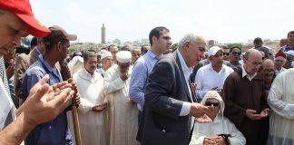 وزراء وزعماء سياسيون يودعون عبد الكريم غلاب