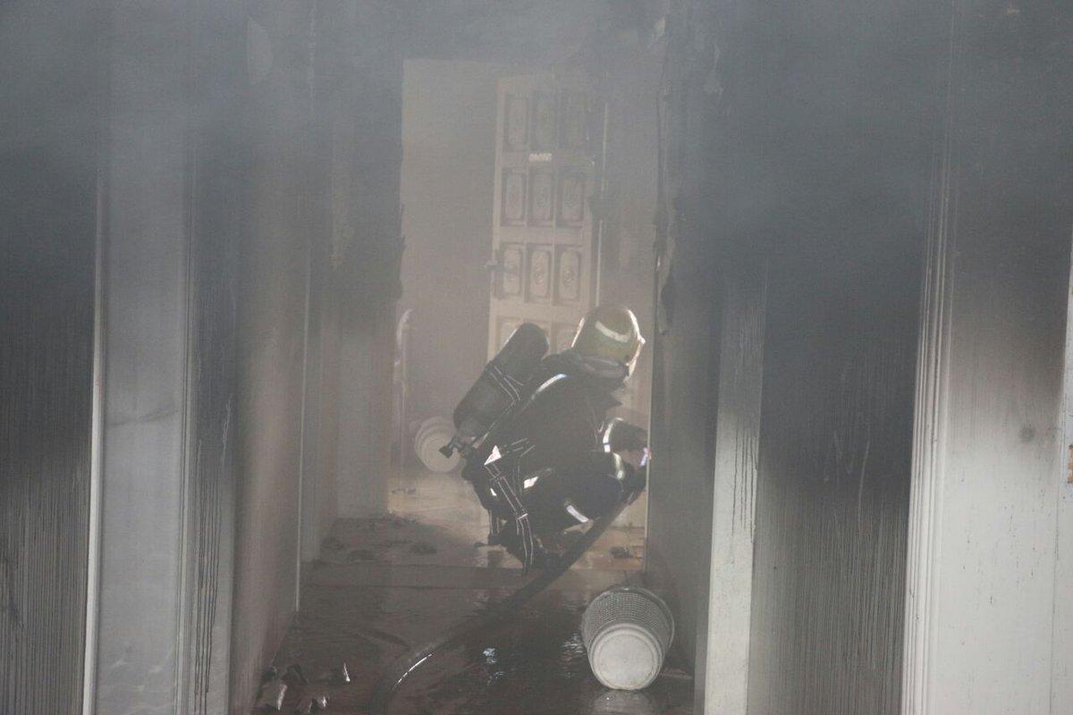 وفاة طفلة وإصابة اثنتين من أسرة واحدة في حريق بأحد أحياء مدينة الرباط