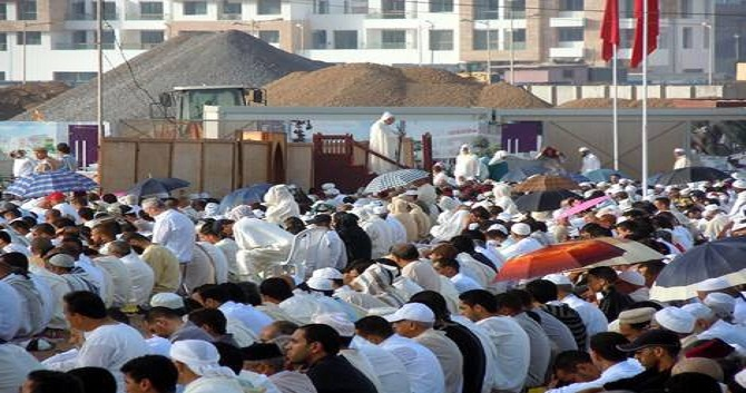 هذه لائحة مصليات عيد الأضحى 1440 بعمالة سلا.. وإقامة الصلاة على الساعة 7:30 صباحا