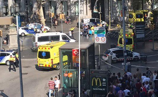 اعتداء برشلونة : ثلاثة مغاربة ضمن الجرحى