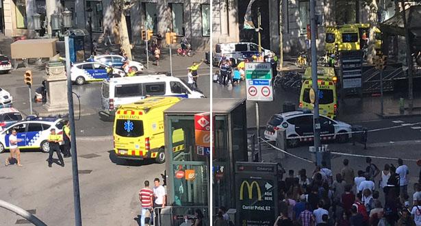 رعب بعد بلاغ كاذب عن وجود قنبلة قرب كنيسة ببرشلونة