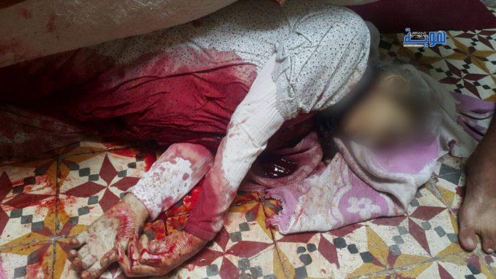 صورة الجدة -رحمها الله- ضحية حفيدها المضطرب نفسيا في سلا