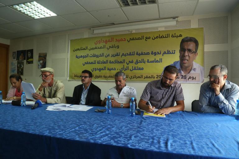 هيئة التضامن: ليست هناك ضمانات نقدمها للمهداوي ليتوقف عن إضراب الأمعاء الفارغة