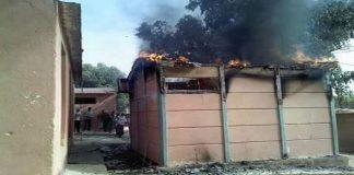 حريق مهول يأتي على مجموعة من الأقسام بمؤسسة تعليمية نواحي برشيد