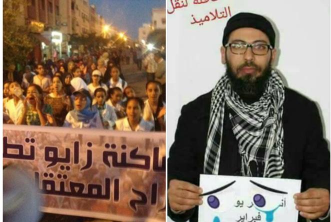 سعيد العايلي يستمر في إضرابه عن الطعام ويضرب عن الماء احتجاجا على تهديده باﻹغتصاب