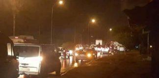 بالصور من بوقنادل.. حادثة سير خطيرة إثر اصطدام 12 سيارة وحافلتين وأنباء عن عدد كبير من القتلى والجرحى