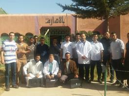 أساتذة ثانوية ابن خلدون التأهيلية بالمديرية الإقليمية بأزيلال يدخلون في إضراب