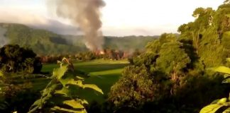 متطرفون بوذيون يهدمون منازل لمسلمي الروهنغيا شمالي أراكان