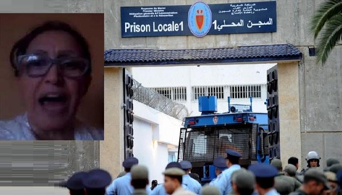 مليكة مزان في سجن الزاكي بعدما قرر القاضي متابعتها في حالة اعتقال