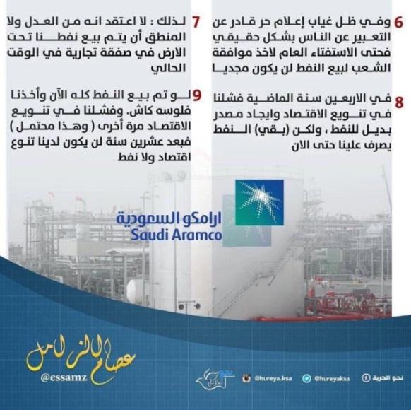هذه هي التدوينات التي يرجح أنها سبب اعتقال الاقتصادي السعودي عصام الزامل