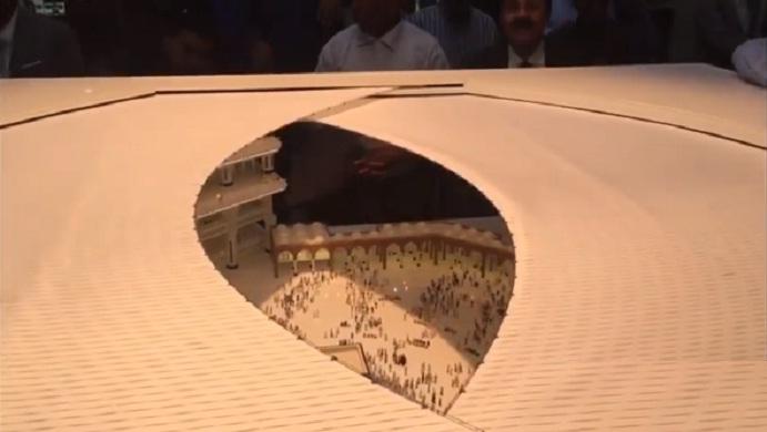فيديو.. مشروع تغطية الحرم المكي (شاهد كيف سيغطى صحن الحرم؟!)