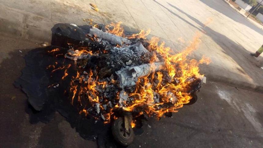 بالصور.. نائب عمدة سلا يستنكر تخريب حاويات القمامة الموضوعة في الشوارع
