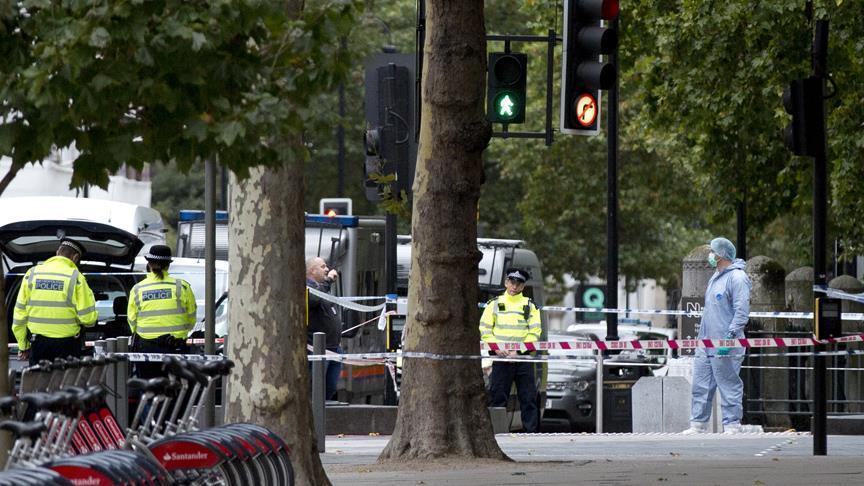 هجوم على مبنى البرلمان بلندن