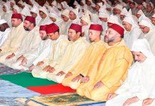 الملك يتوج المتفوقات في محاربة الأمية بالمساجد خلال 2016 و2017
