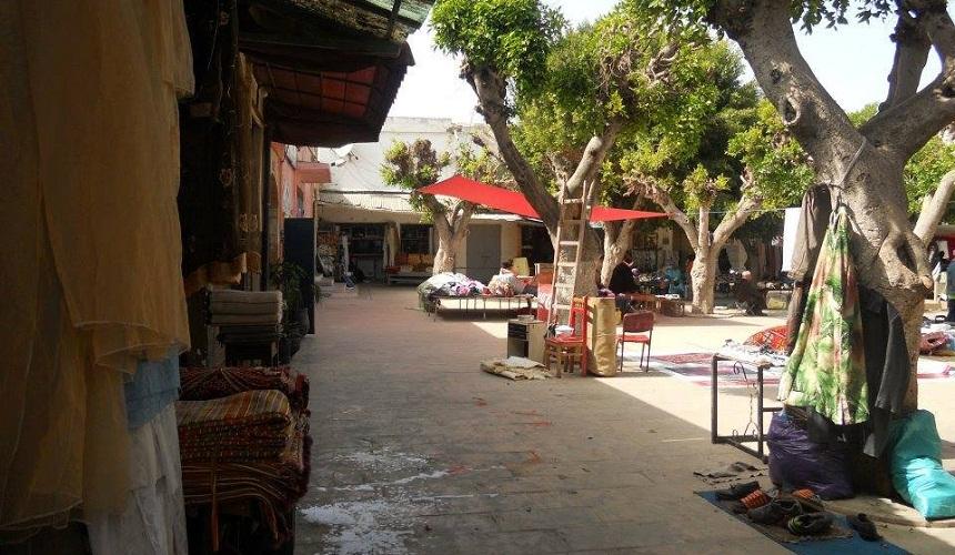 «سوق الغزل» بالمدينة العتيقة بسلا