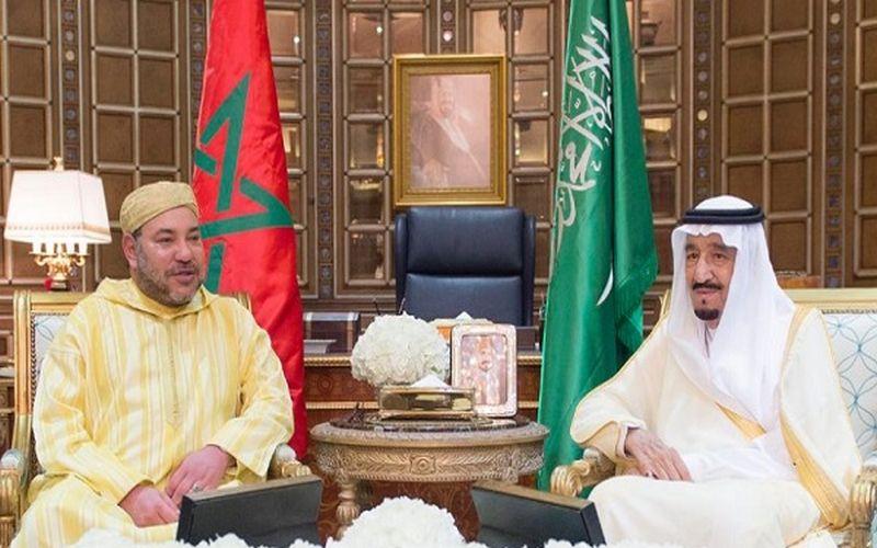 برقية تعزية ومواساة من الملك محمد السادس إلى خادم الحرمين الشريفين على إثر وفاة الأمير بندر بن عبد العزيز آل سعود