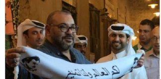 الإعلام القطري يعتذر عن نشر الصورة المفبركة للوشاح والملك بقطر