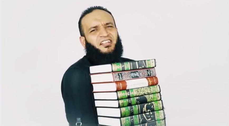 فيديو.. تعالوا نتخلص من البخاري ومسلم وكتب التراث!!