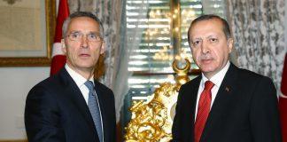"""أمين عام """"الناتو"""" يعتذر لأردوغان عن فضيحة المناورات"""