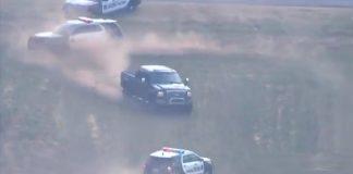 فيديو.. مطاردة بوليسية مثيرة بولاية أوكلاهوما الأمريكية