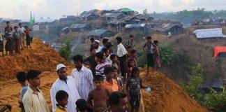 منظمة حقوقية: الرياح الموسمية تهدد أرواح لاجئي الروهنغيا في بنغلاديش