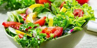 السَّلطة تساعد على فقدان الوزن