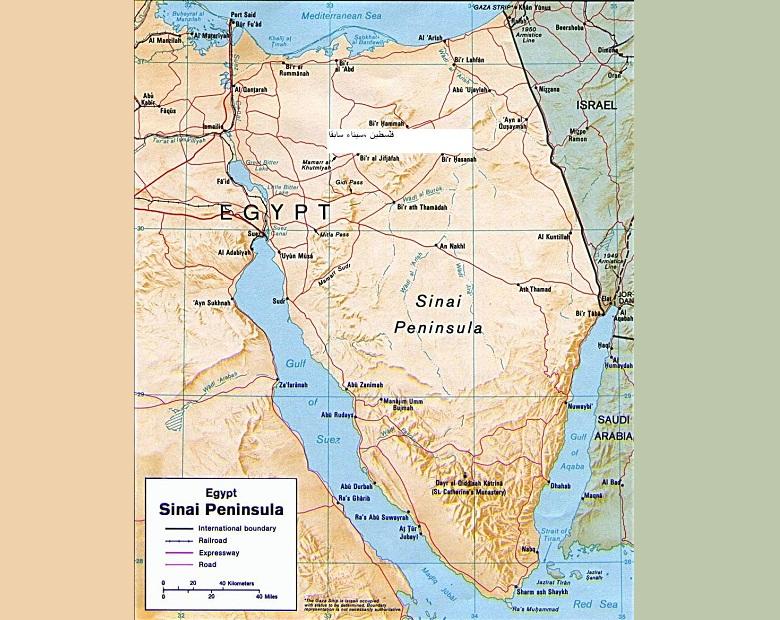 7 قتلى في تفجير انتحاري بشمال سيناء المصرية