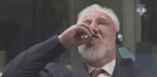 """"""" الجنايات الدولية"""" تقطع محاكمة جنرال كرواتي لادعائه تناول السم"""
