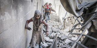 استشهاد 5 أطفال في قصف لقوات الأسد على غوطة دمشق