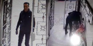 فيديو للتعرف على السارق.. عملية سرقة دراجة نارية من إحدى العمارات بمنطقة حسان-الرباط