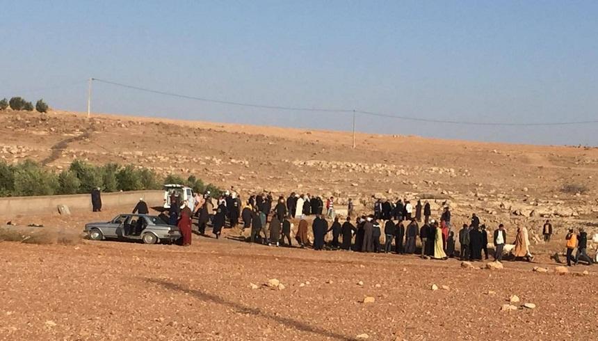 صور تشييع جنازة ودفن الأخ الفاضل عبد الرحيم خريبش بمقبرة البروج بإقليم سطات