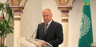 أبو الغيط: الرد العملي على قرار ترامب الاعتراف بالدولة الفلسطينية