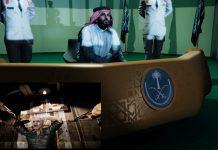 """""""صحيفة الرياض"""" تنشر فيديو للحرب السعودية مع إيران.. من ينتصر؟"""