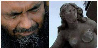 حملة في الجزائر للمطالبة بإطلاق سراح عباس الذي خرب تمثال المرأة العارية بسطيف