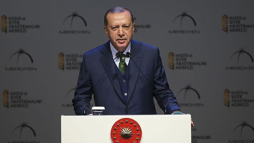 أردوغان: أول قبلة للمسلمين تتعرض لإرهاب دولة أمام أعين العالم
