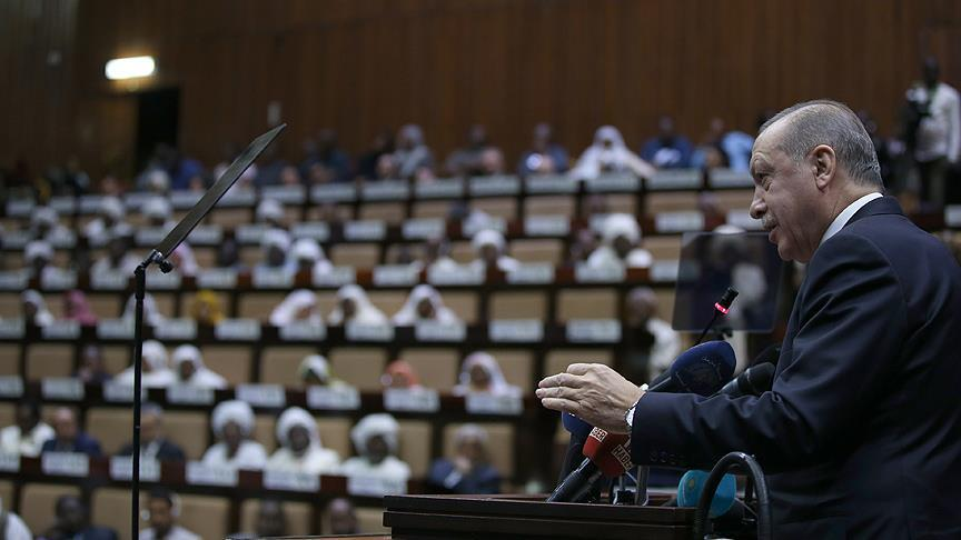 من السودان.. أردوغان يدعو ترامب للتراجع عن قرار القدس