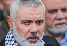هنية: لن نقبل بدولة إلا داخل حدود فلسطين