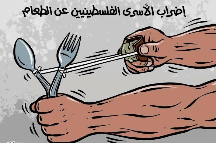 إضراب الأسرى الفلسطينيين عن الطعام