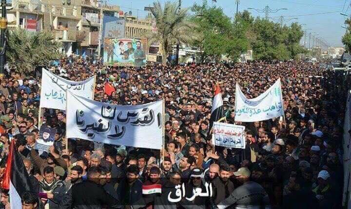 بالصور تفاعل البلدان الإسلامية مع قضية تهويد القدس وإعلانها عاصمة لإسرائيل