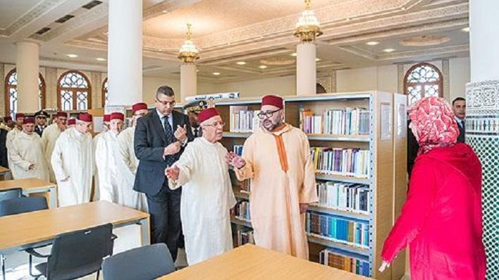 الملك يدشن المركب الإداري والثقافي التابع لوزارة الأوقاف بالدار البيضاء