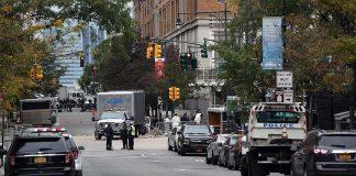بالفيديو.. انفجار عند محطة للحافلات في مانهاتن