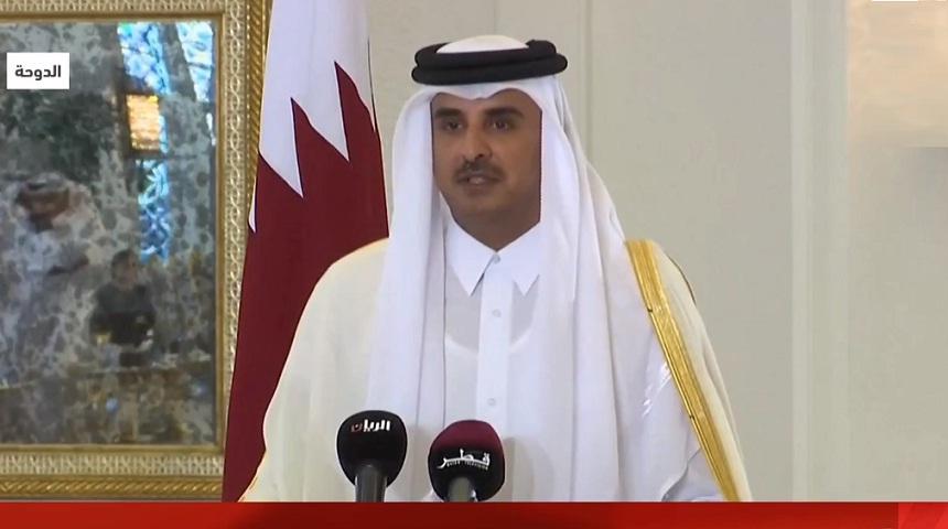 أمير قطر: موقفنا من الأزمة الخليجية لم يتغير