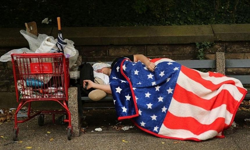 59 ألف مشرد بأمريكا يبيتون في العراء