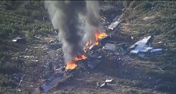 مصرع 7 أشخاص بعد تحطم طائرة قرغيزية في إيران