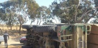 انقلاب شاحنة عسكرية يخلف مصرع جنديين وإصابة تسعة آخرين بجروح بليغة بمرزوكة