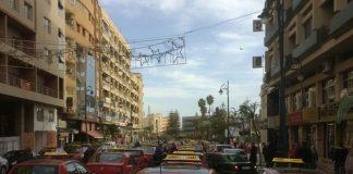 عاجل.. (بالفيديو) احتجاج أكثر من 700 طاكسي بوجدة
