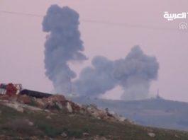 شاهد: المقاتلات التركية تقصف أوكار لتنظيم بي يي دي / بي كا كا في عفرين ضمن عملية غصن الزيتون